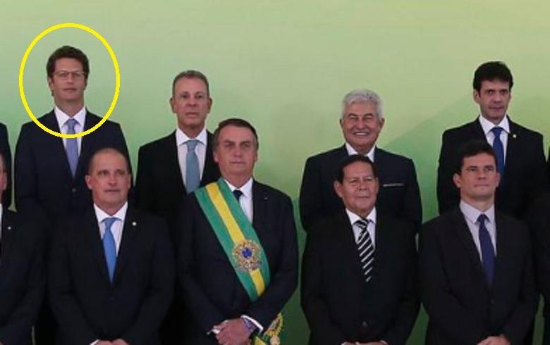 Resultado de imagem para RICARDO SALLES COM BOLSONARO