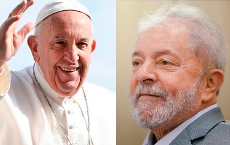Resultado de imagem para imagens do papa do lula