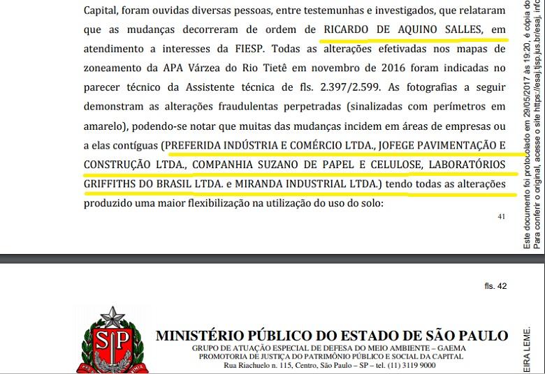 Ricardo Salles será investigado pelo MP