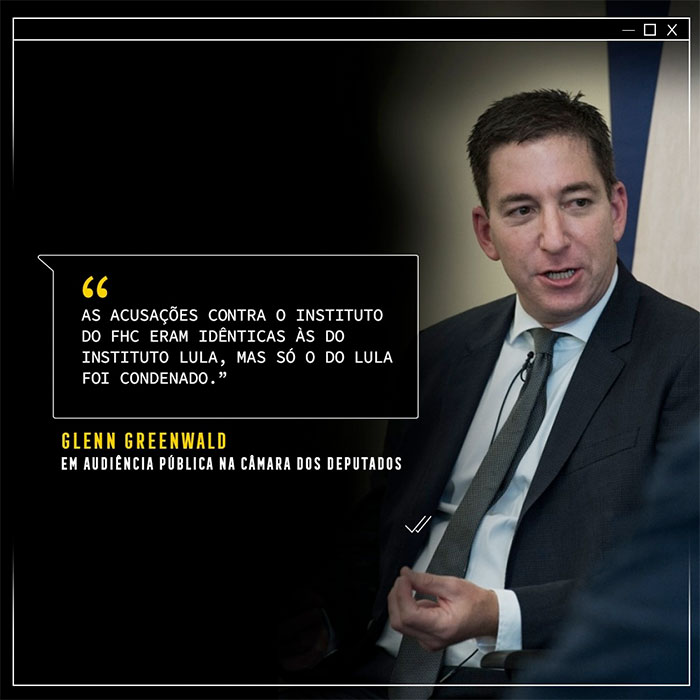 Glenn Greenwald é atacado por bolsonaristas e reage: 'Vocês vão se arrepender muito'