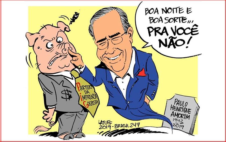 Paulo Henrique Amorim, a televisão brasileira e suas mortes