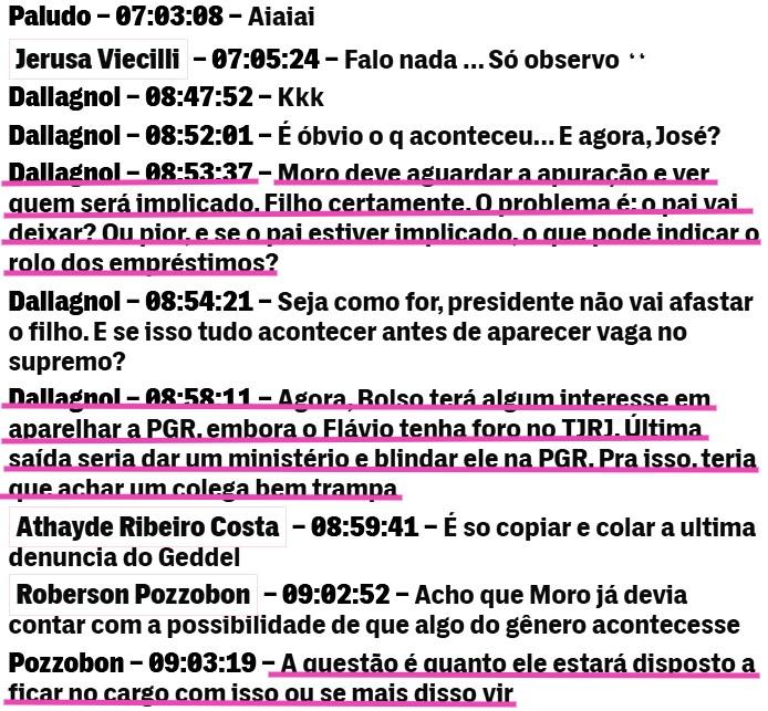 The Interecept Brasil - reprodução