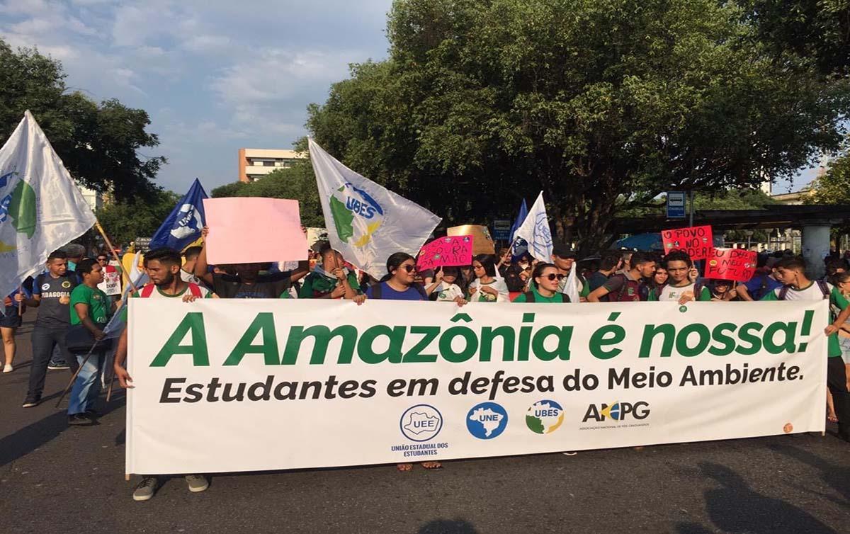 Manaus foto Victor Cabral/CUCA da UNE