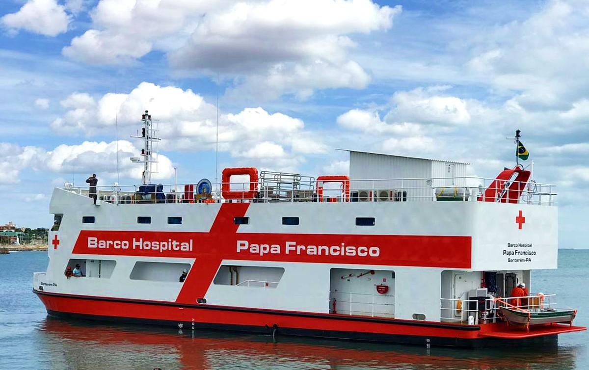 Acordo de indenização trabalhista resulta em barco-hospital na ...