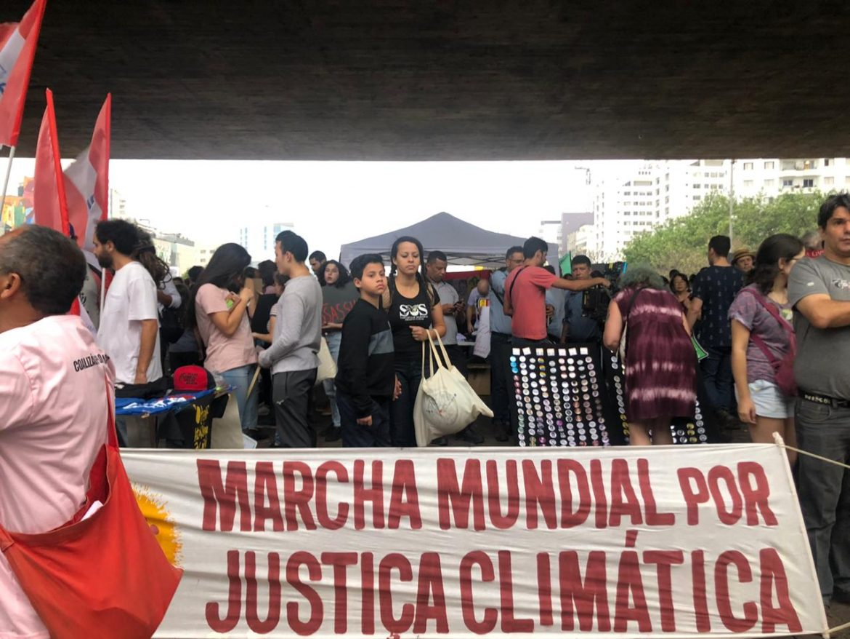 Em São Paulo, manifestantes denunciam ataques ao meio ambiente na Greve Global pelo Clima