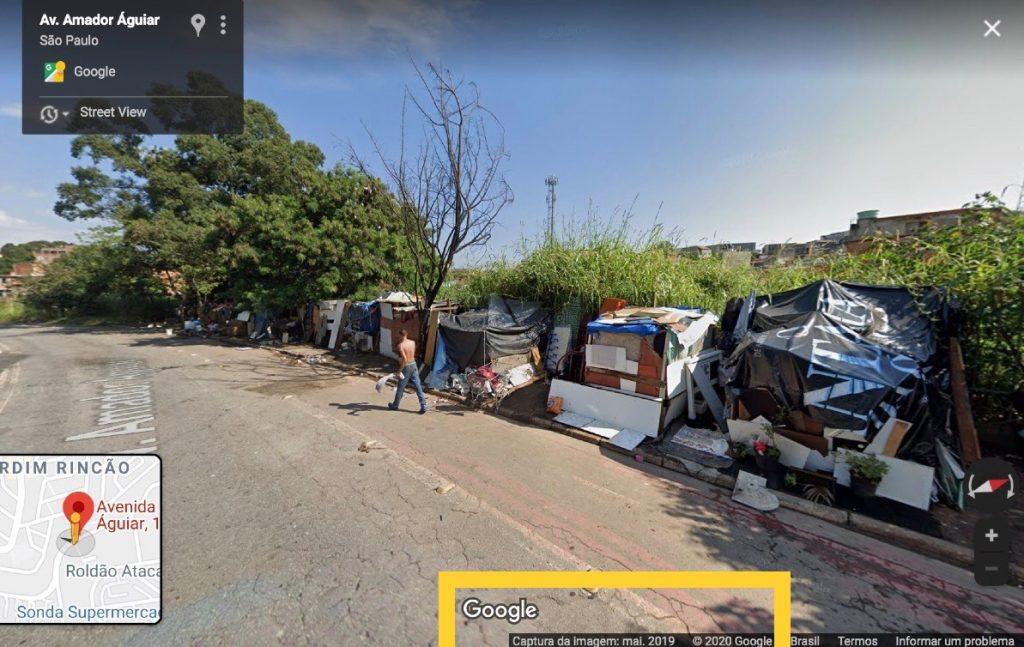 Google Mapas/Reprodução