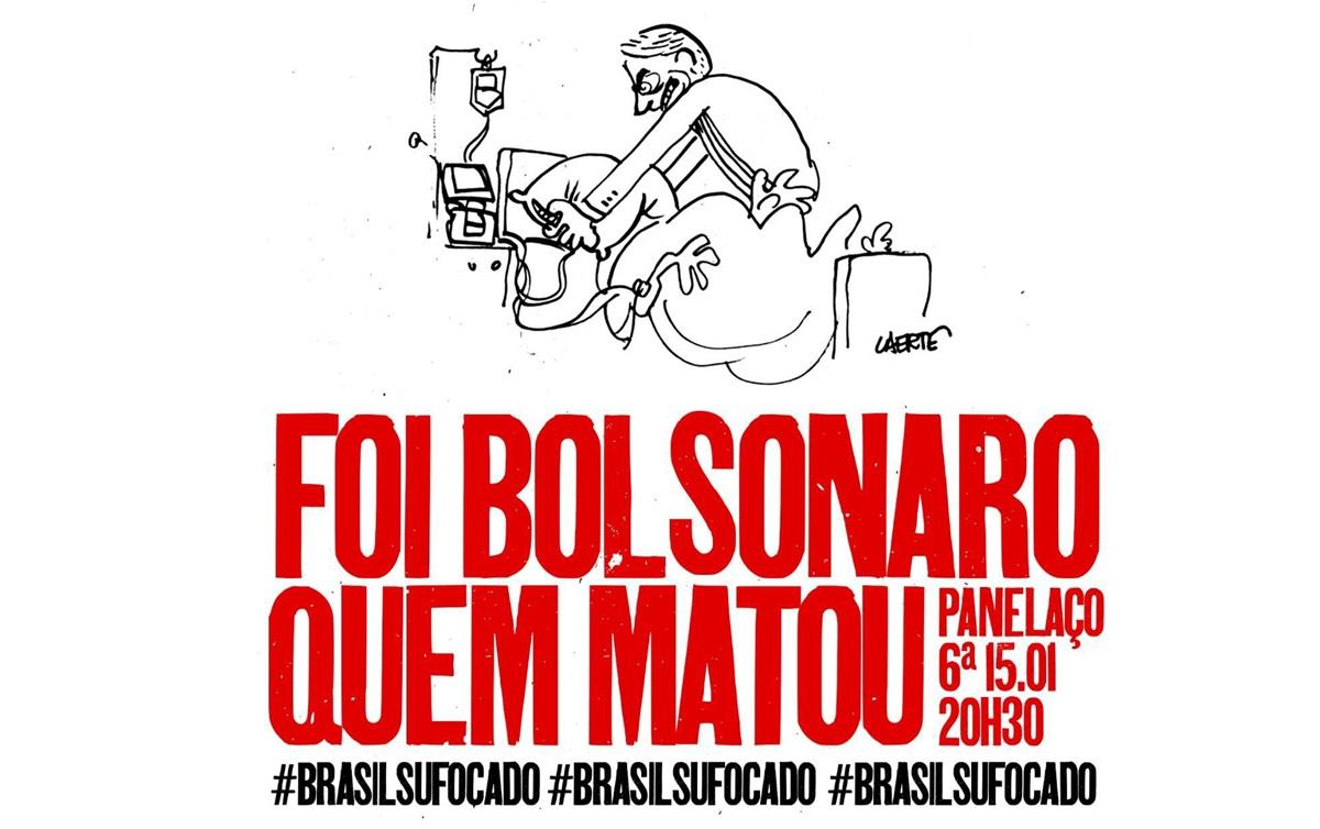 #BrasilSufocado: Panelaço contra Bolsonaro é marcado para ...