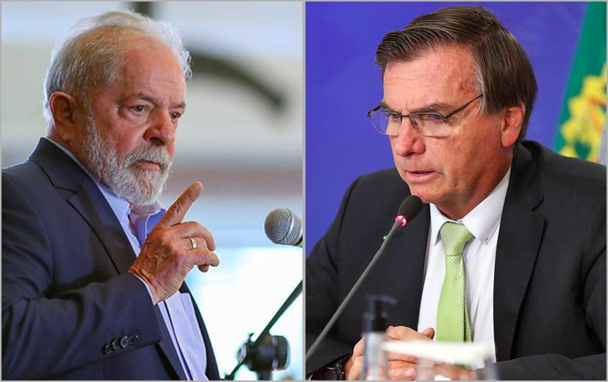 Lula empata tecnicamente com Bolsonaro no 1º e no 2º turno