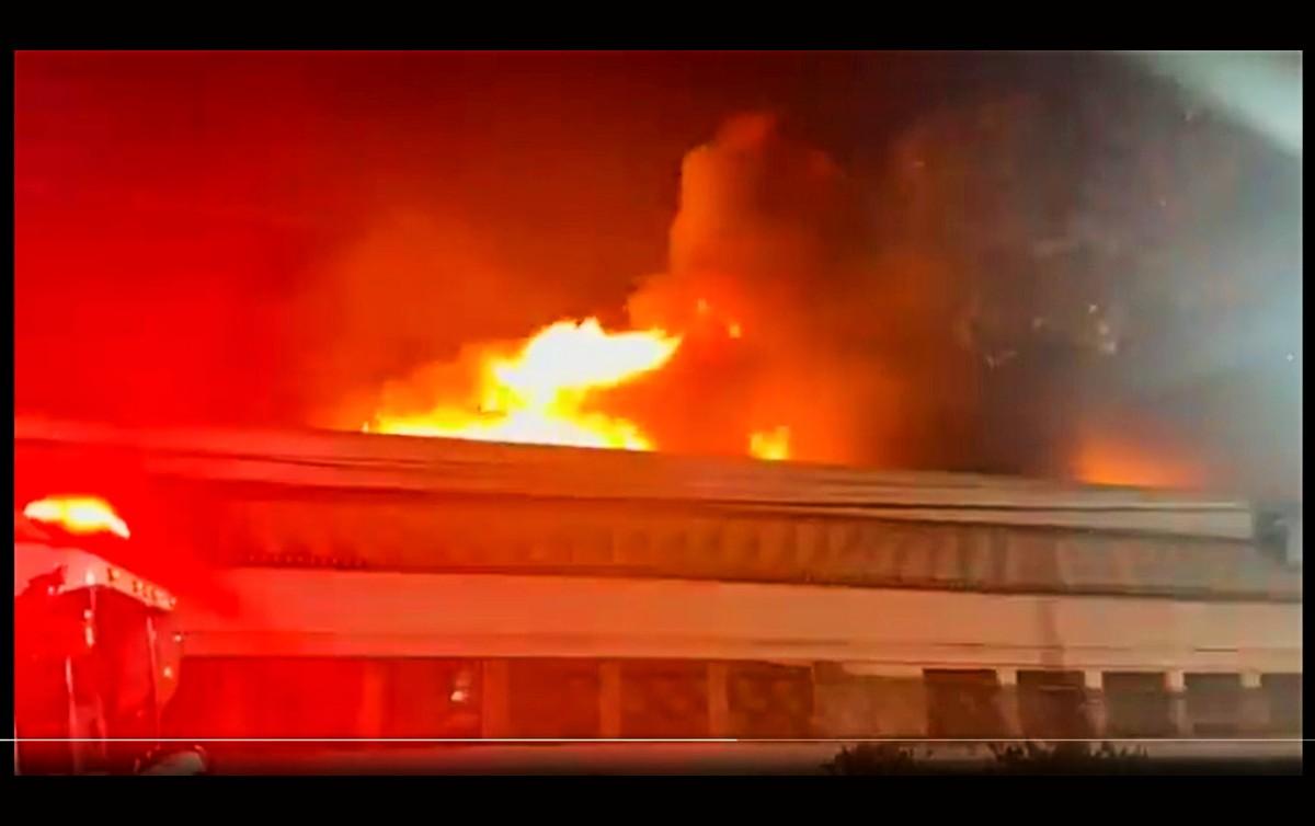 Incêndio Cinemateca Brasileira