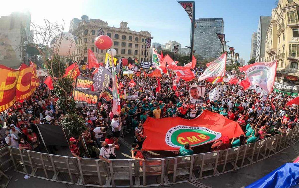 Dia da independência no Anhangabaú